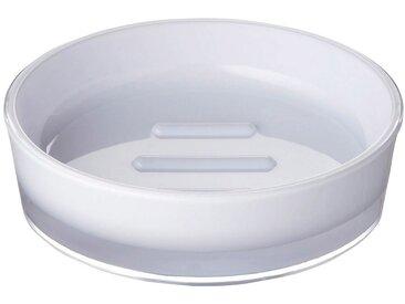 RIDDER Seifenschale »Disco«, rund, weiß, weiß