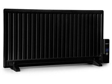 ONECONCEPT Ölradiator 1000W Thermostat Ölheizung ultra »Wallander«, schwarz, schwarz
