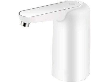 kueatily Klarwasserpumpe »Wasserflaschenpumpe mit Nachtlicht USB Wiederaufladbare automatische Trinkwasserpumpe 1200 mAh Tragbarer elektrischer Wasserspender Wasserflaschenschalter Trinkspenderfilter«