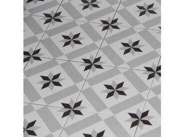 Casa Moro Fliesenaufkleber » Mediterrane Keramik-Fliesen Rahma 20x20 cm matt 1 qm aus glasiertem Steinzeug in Zementoptik, Bodenfliesen Wandfliesen im Bad & Küchenrückwand