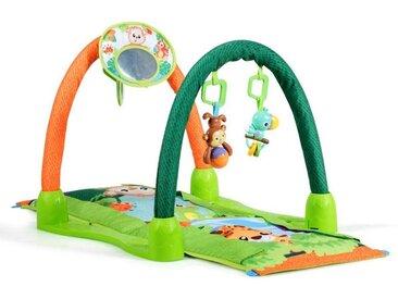 COSTWAY Krabbeldecke »Erlebnisdecke«, multifunktional, mit Spielbogen und Spiegel, grün, grün