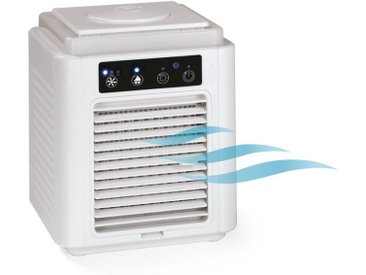 EASYmaxx Kombigerät Luftreiniger, Ventilator und Heizlüfter, Klimagerät Aktivkohle-Filter