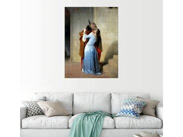 Posterlounge Wandbild, Der Kuss, Acrylglasbild