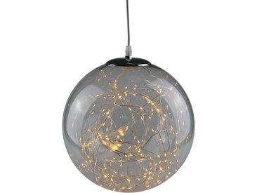 AM Design LED Dekolicht »Lichterglanz«, LED Kugel aus Glas, Ø ca. 20 cm