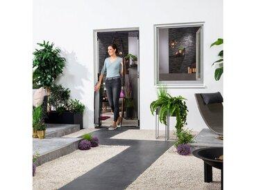 hecht international HECHT Insektenschutz-Vorhang BxH: 100x220 cm, mit Bordüre, schwarz, 100 cm x 220 cm, 100 cm x 220 cm, Türen