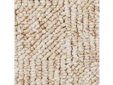 Bodenmeister BODENMEISTER Teppichboden »Schlinge gemustert«, Meterware, Breite 400/500 cm, natur, beige