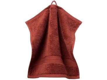 grace grand spa Waschlappen »3er-Pack« (3-tlg), mit breiter Webbordüre, rot, lila
