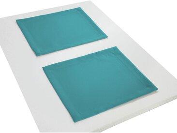 Adam Platzset, »Uni Collection«, (Packung, 2-St), blau, türkis