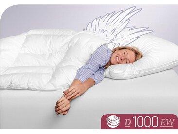 Schlafstil Daunenbettdecke, »D1000«, extrawarm, Füllung: 100 % Eiderdaunen, (1-tlg), höchste Leichtigkeit