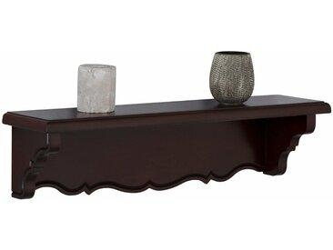 Premium collection by Home affaire Wandregal »Katarina«, mit schöner geschwungener Borte, in zwei verschiedenen Breiten und Farbvarianten, braun