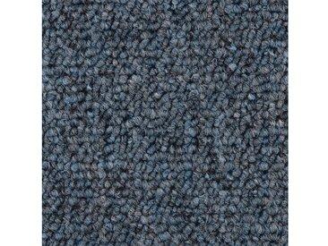 Bodenmeister BODENMEISTER Teppichboden »Schlinge gemustert«, Meterware, Breite 400/500 cm, blau, blau/grau