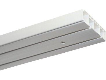 GARDINIA Gardinenstange »Vorhangschienen Set Kunststoff GK«, 2-läufig, Fixmaß, 1 St.