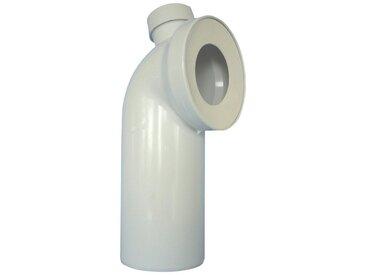 CORNAT WC-Ablaufbogen 90°, mit Stutzen 40/50 mm