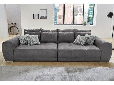 Jockenhöfer Gruppe Big-Sofa, grau, dunkelgrau