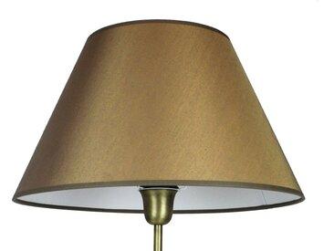 Signature Home Collection Lampenschirm, Handgefertigter Lampenschirm in Stoff, goldfarben, gold