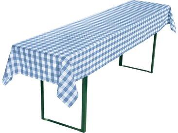 REDBEST Tischdecke, Karo, blau, blau