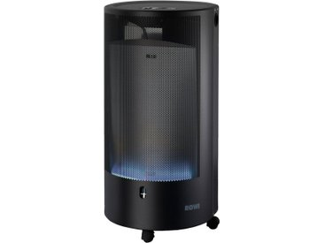 ROWI Gasheizung »HGO 4200/2 BFT Pure Premium Eco Smart«, 4,2 kW mit Thermostat, schwarz, schwarz