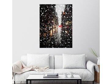 Posterlounge Wandbild, Nächtlicher Regen, Acrylglasbild