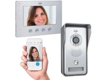 Elro »DV447WIP« Smart Home Türklingel (Außenbereich, Innenbereich, Video Gegensprechanlage mit App)