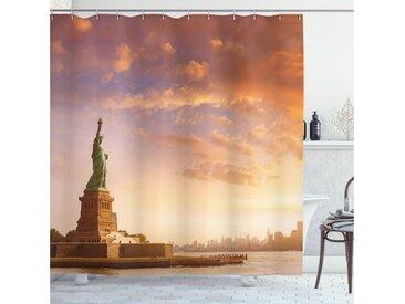 Abakuhaus Duschvorhang »Moderner Digitaldruck mit 12 Haken auf Stoff Wasser Resistent« Breite 175 cm, Höhe 180 cm, Landschaft USA New York Landschaft