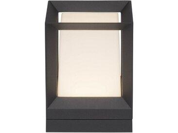 AEG Kubus LED Außensockelleuchte 21cm anthrazit/weiß, schwarz, anthrazit/weiß