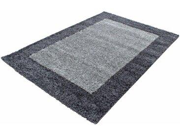 Ayyildiz Hochflor-Teppich »Life Shaggy 1503«, rechteckig, Höhe 30 mm, grau, grau