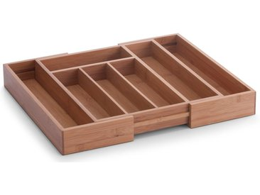 Zeller Present Besteckkasten, Bambus, ausziehbar