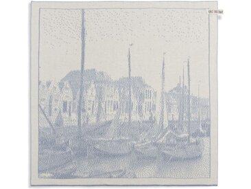 Knit Factory Tischdecke »Küchentuch Hafen Ecru/Grau«