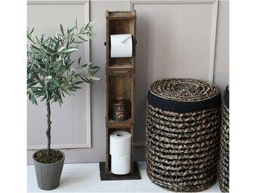 Chic Antique Toilettenpapierhalter » Toiltettenpapier- Klorollen- Halter Ständer 3 Ziegelformen 41483-00«