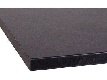 OPTIFIT Arbeitsplatte »Luzern«, 38 mm stark, schwarz, granit schwarz