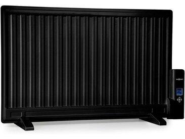 ONECONCEPT Ölradiator 800W Thermostat Ölheizung »Wallander«, schwarz, schwarz
