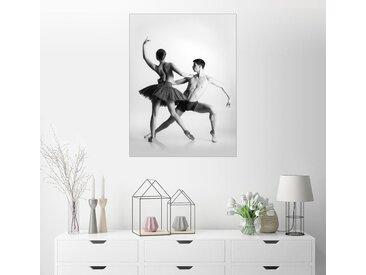 Posterlounge Wandbild, Ballett Tänzer, Premium-Poster