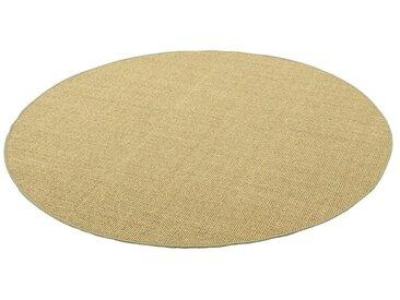 Snapstyle Sisalteppich »Sisal Natur Teppich Rund«, Rund, Höhe 6 mm, Grün