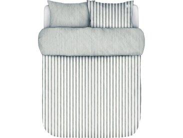 Marc O'Polo Home Wendebettwäsche »Mikkeli«, mit klassischen Streifen, grau, 1 St. x 155 cm x 220 cm, grey