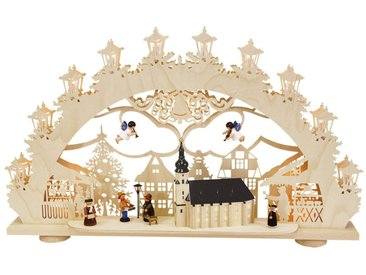 SAICO Original 3D-Lichterbogen Altstädter Weihnachtsmarkt, natur, Natur