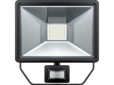 Goobay LED Außen-Flutlichtstrahler »mit Bewegungsmelder, 50 W«, weiß, Weiß