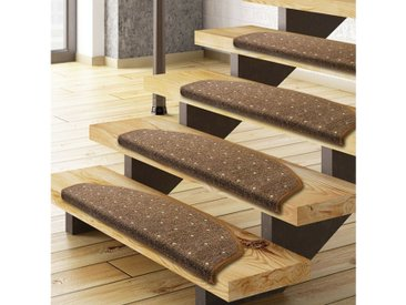Floordirekt Stufenmatte »Rapido«, Halbrund, Höhe 5 mm, 1A, braun, Braun
