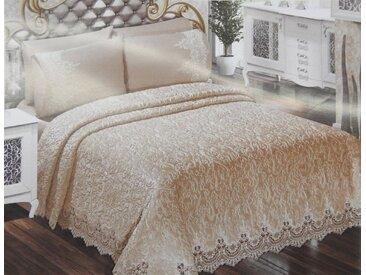 """ZELLERFELD Tagesdecke »6-Teilige """"Sarimasik"""" Premium Bettdecke Tagesdecke mit Koffer Bettdecke Bettüberwurf Kopfkissenbezug Baumwolledecke 230 x 245 cm«"""