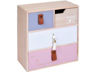 Home & styling collection Schatzkiste, rosa, Rosa