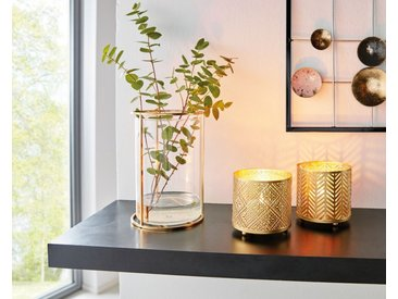 HomeLiving Windlicht »Gold«