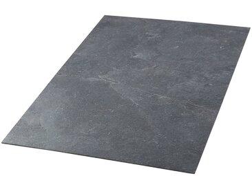 Slate Lite Dekorpaneele »Muster Sheet Cobre«, (1-tlg) aus Echtstein, schwarz, dunkelgrau-anthrazit