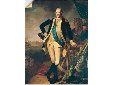 Artland Wandbild »George Washington in Princeton. 1779«, Menschen (1 Stück), Wandaufkleber - Vinyl