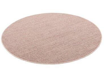 Snapstyle Sisalteppich »Sisal Natur Teppich Rund«, Rund, Höhe 6 mm, Kies