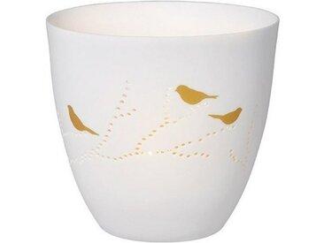 """Räder Design Teelichthalter »Poesielicht """"Vögel""""«, Für Stimmungsvoll warmes Licht"""