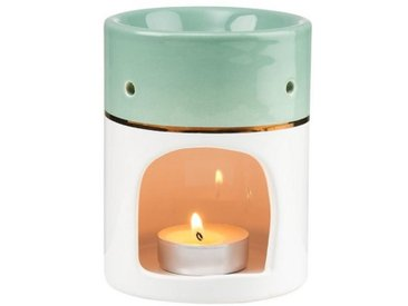 BUTLERS Duftlampe » AMBIANCE Aromalampe Duftwax«, grün, Salbei