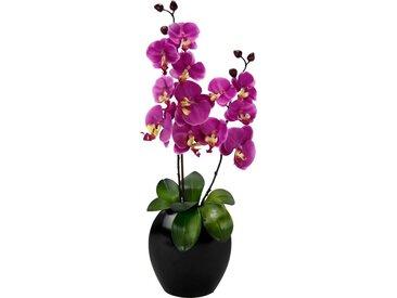 I.GE.A. Kunstpflanze »Phalaenopsis in Vase«, Höhe 63 cm, rosa, pink