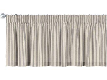 Dekoria Vorhang, grau-ecru
