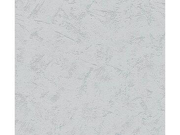 A.S. Création Vinyltapete, Unitapete Grau Papiertapete 363510 Wandtapete Modern Strukturiert