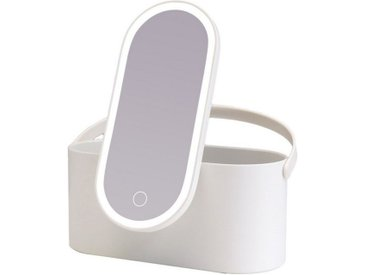 AILORIA Kosmetikspiegel »MAGNIFIQUE« (1-St), Beautycase mit LED-Spiegel (USB)