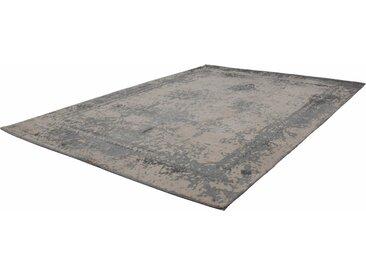 Kayoom Teppich »Nostalgia 285«, rechteckig, Höhe 10 mm, Flachgewebe in Vintage Optik, grau, grau